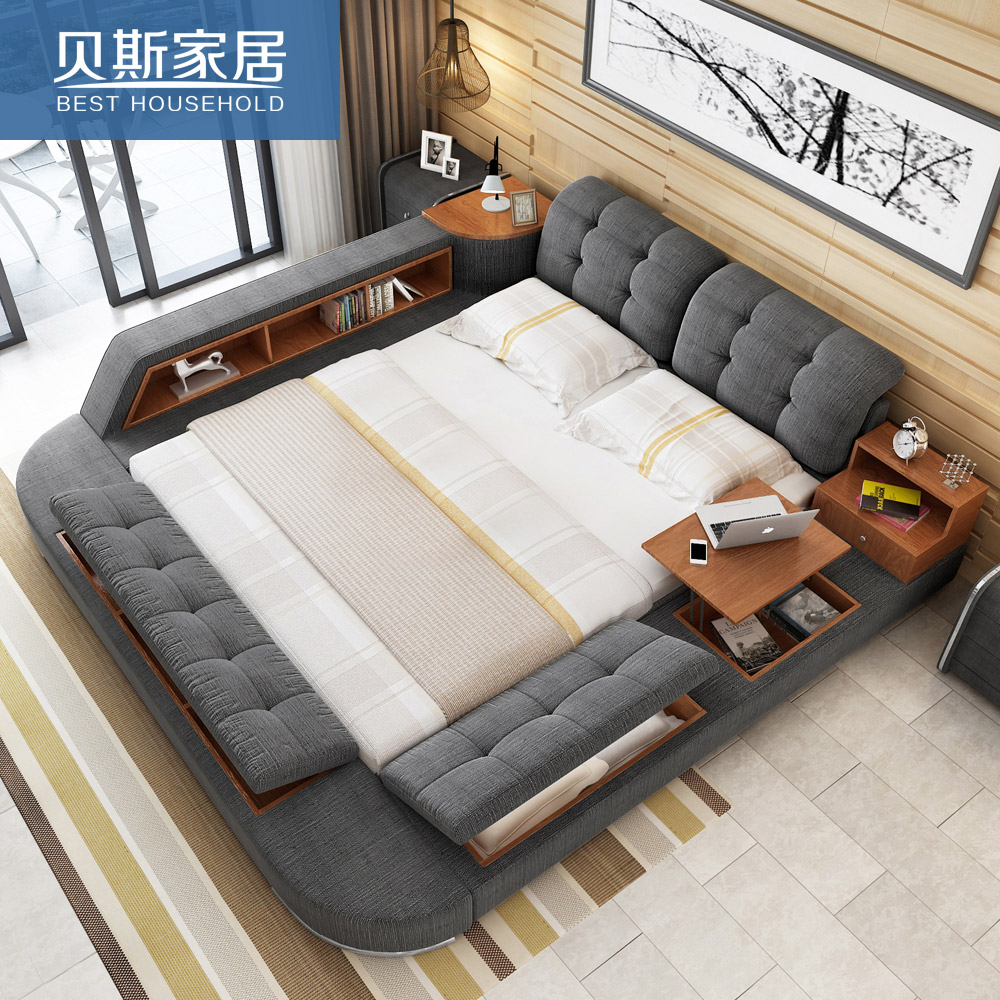 USD 62018 Bed Cloth Bed Fabric Bed 18 Meters Double