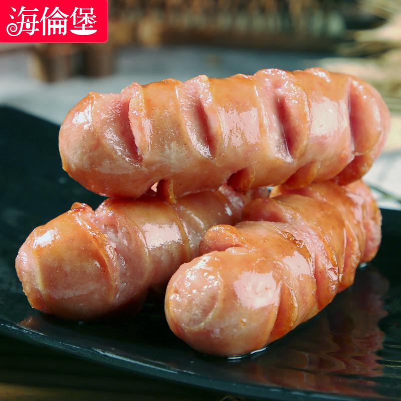 【海伦堡】台湾火山石烤肠3斤纯肉烤肠