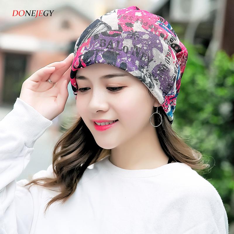 纱巾女春秋月子透气化疗帽女薄光头睡帽室内头巾帽子帽瑜伽包头帽