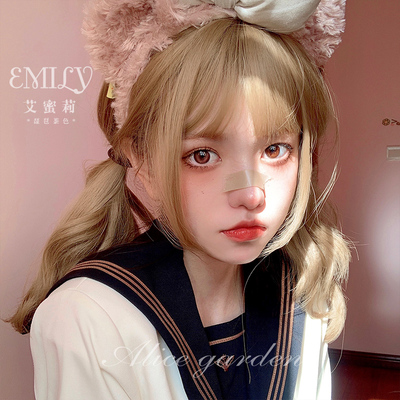 taobao agent Wig female net red daily Harajuku soft girl Lolita long curly hair