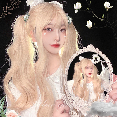 taobao agent Wig female Japanese network celebrity lolita