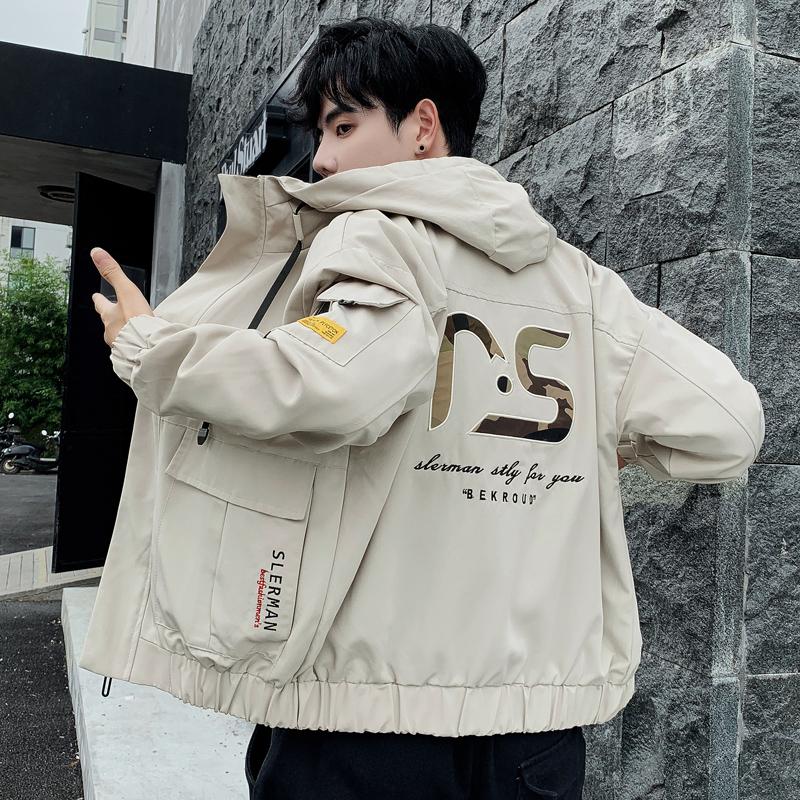98.00元包邮【OZQ】秋季男士韩版工装夹克