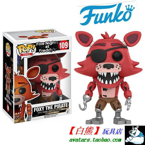 Куклы/ украшения/детали Funko  POP FNAF Foxy Pirate
