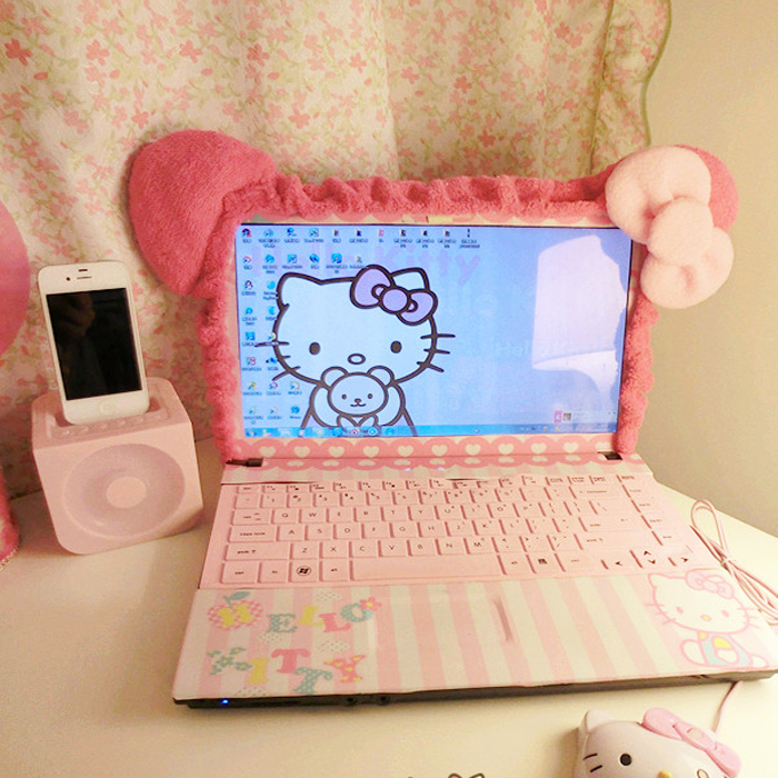 promo code 29a5d 2aae5 Cartoon laptop dust cover desktop computer display screen dust cover LCD  screen cover