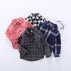 Дети сетка рубашка с длинными рукавами корейская волна 1 мальчиков и девочек, ребенок хлопок рубашка поддержка 3 лет куртка ребенок весна