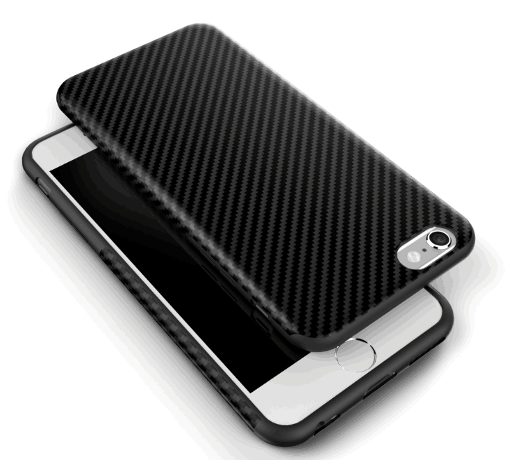 carbon fiber cover apple iphone8