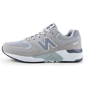 春季男鞋运动休闲鞋 999n字母运动鞋时