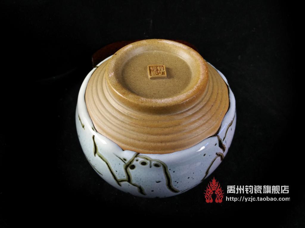 Горшок Дин июня июня июня печи фарфора yuzhou чай мастер Дин Jianzhong работает рука зародышей чай Тан черная глазурь