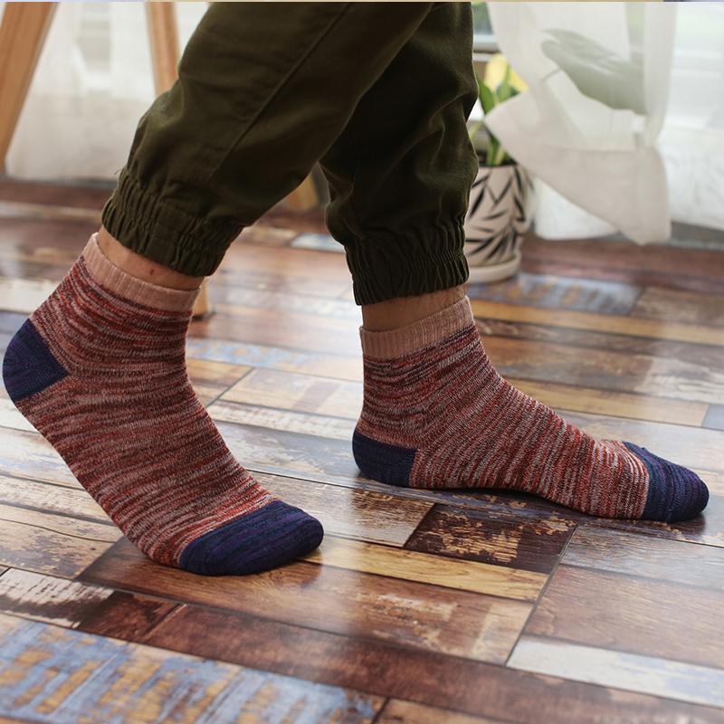 袜子男士商务中筒袜吸湿排汗棉袜四季透气篮球袜防臭运动袜长筒袜
