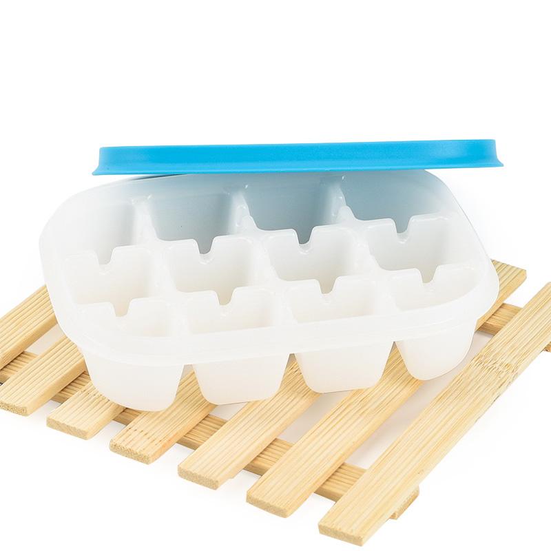 特百惠酷趣冰格模具正品冰块v模具保鲜盒冰箱制冰格带盖家用