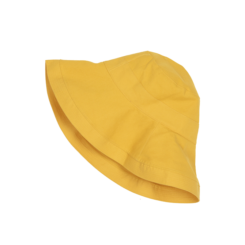 VEGA CHANG hat female summer fashion fisherman hat sun hat sun hat wild  yellow round neck d863cfc93d2