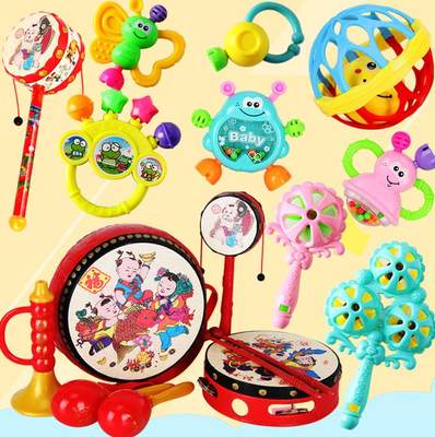 Two or three months old baby toys for girls, children's toys, 0-1 year old boy, 3-6 months old baby puzzle water