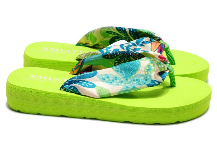 Plastic Fashionflip flop(Black - 6 yards) NHXW0180-Black - 6 yards