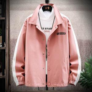 【TAOSO】潮牌帅气外套单排扣翻领夹克