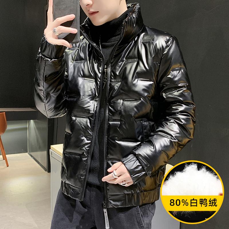 TAOSO/淘搜羽绒服男短款2020冬装新款加厚男士工装外套冬季潮牌