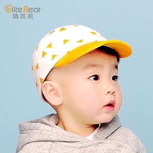 夏季薄款宝宝防晒鸭舌帽棒球帽