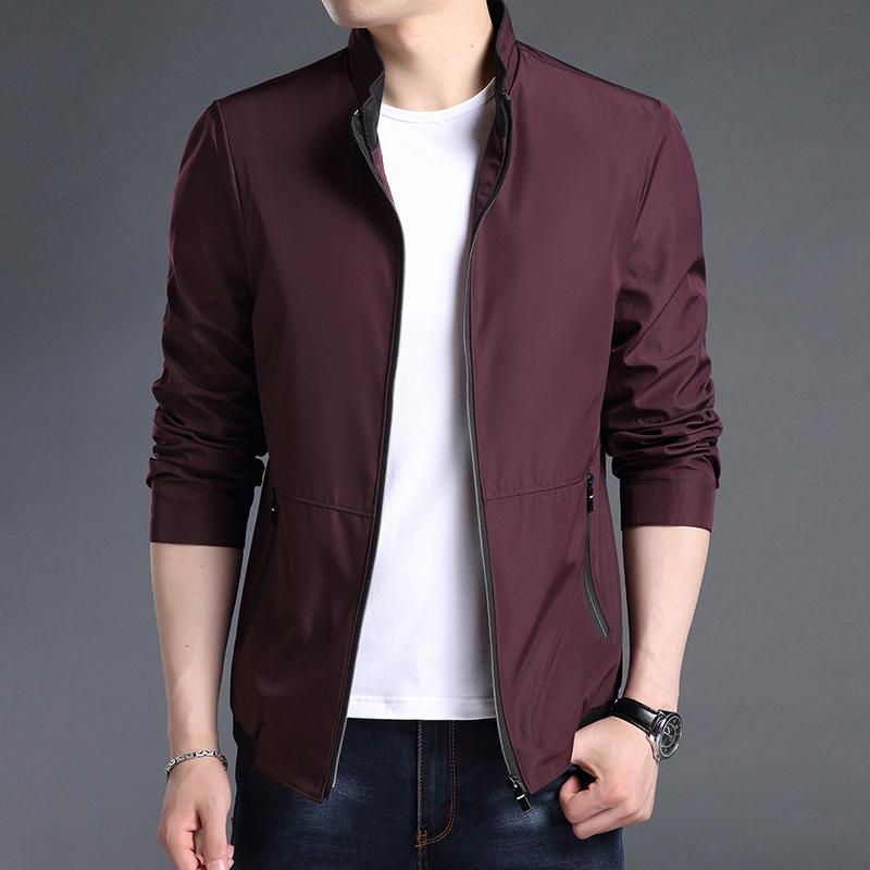 2018新款男士外套春秋季韩版潮流男装修身帅气休闲棒球衣服薄夹克