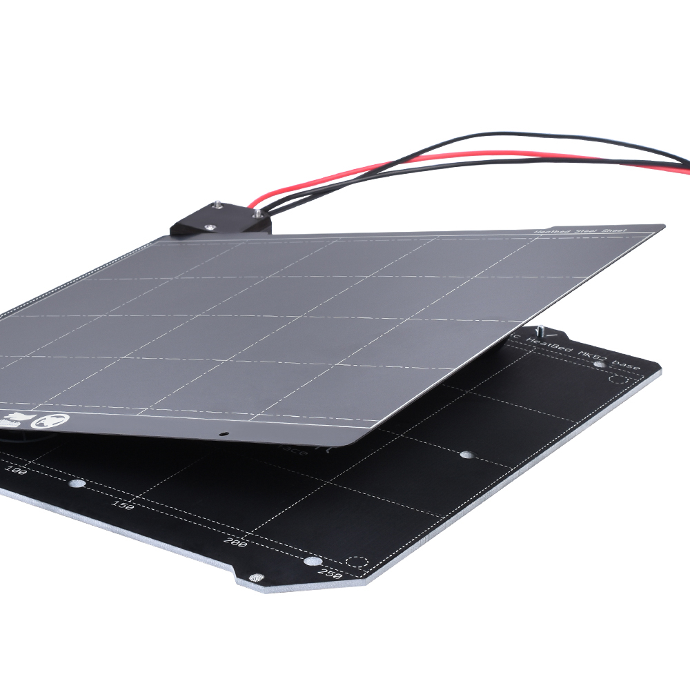 Prusa I3 MK3 Magnetic Heated Bed MK52 Assembly 24V With PEI Film And Spring Steel Plate