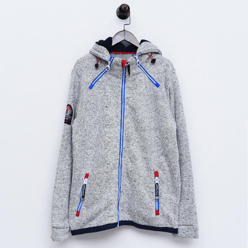 时尚连帽既然a时尚新款韩版AF6054宽松男装长袖上衣外套学生冬装