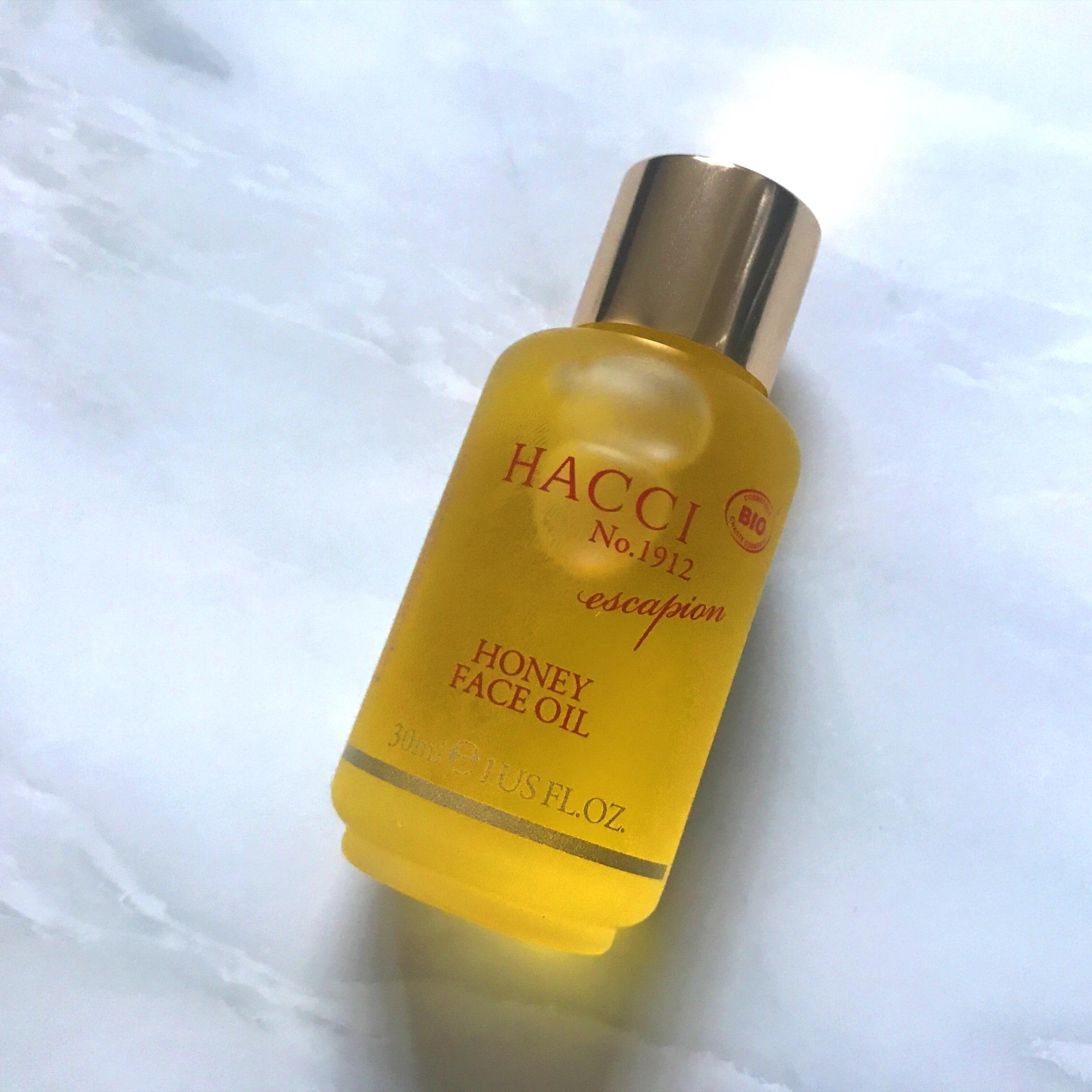 沐沐美妝~【在途】日本專柜 HACCI 老鋪蜂蜜玫瑰美容油 面部保濕精油 30ml