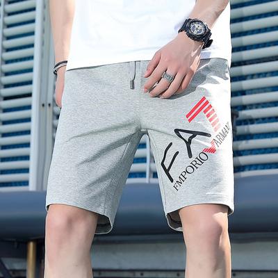 短裤男士五分裤夏季潮流运动裤宽松休闲裤薄款潮牌沙滩5分裤子男