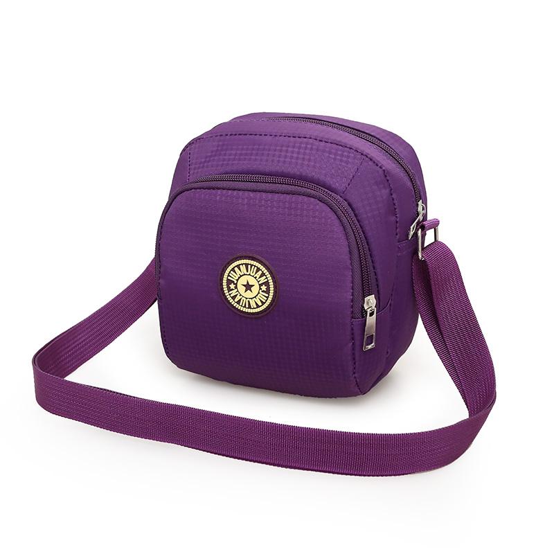 Túi nhỏ túi messenger nữ thời trang trọng lượng nhẹ vai túi nylon chống thấm nước túi phụ nữ túi xách oxford túi vải túi xách