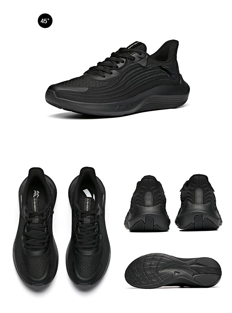 安踏毒刺跑步鞋男夏季新款轻便跑鞋网面透气休閒鞋男士运动鞋详细照片