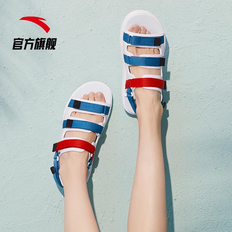 安踏 女式平底凉鞋 聚划算+天猫优惠券折后¥149包邮(¥179-30)多色可选