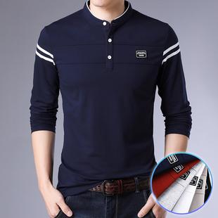 春秋款男士T恤新款潮流韩版上衣