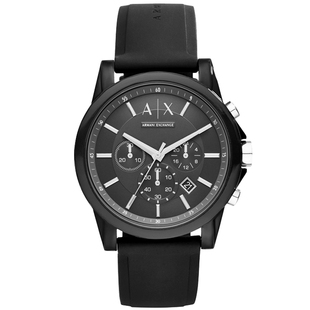 Armani waterproof sports quartz watch