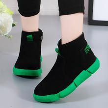 儿童马丁靴女孩宝宝公主短靴单靴韩版 –