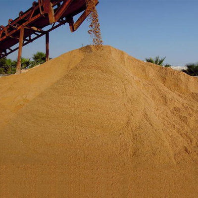 Suzhou Huangsha Cement Delivery Coarse Sand Fine Sand Screen Free Construction Sand