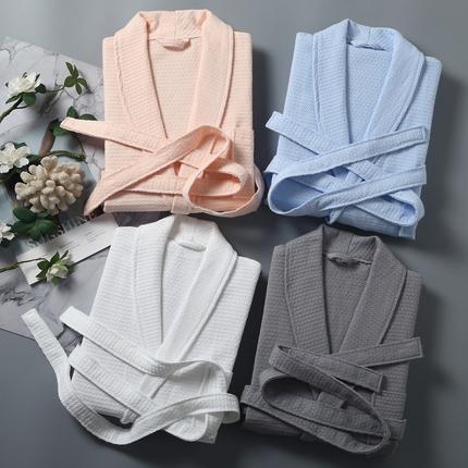 夏季浴袍女长款薄款纯棉吸水情侣睡袍五星级酒店男士女士全棉浴衣