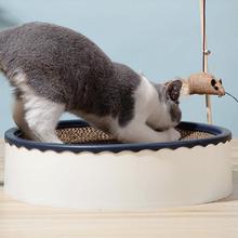 猫抓板窝不掉屑猫窝磨爪器保护沙发