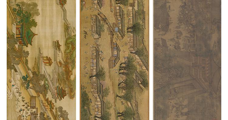 张择端国画高清图片电子版素材清明上河图装饰画教学临摹设计素材插图(10)