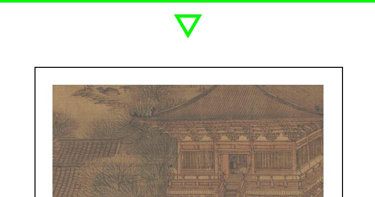 张择端国画高清图片电子版素材清明上河图装饰画教学临摹设计素材插图(1)