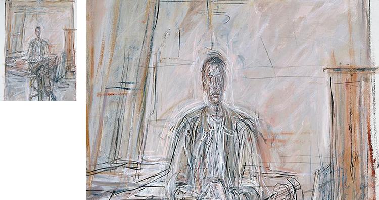 贾科梅蒂油画高清电子图片抽象现实主义教学临摹装饰画芯素材资料插图(9)