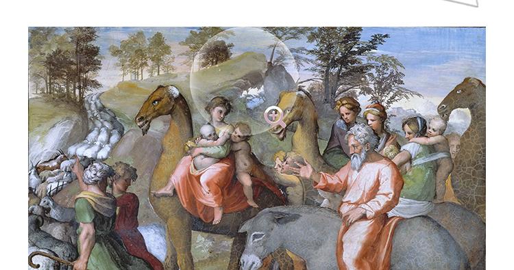 拉斐尔 高清油画图片电子版 文艺复兴教学临摹喷绘装饰画素材插图(10)