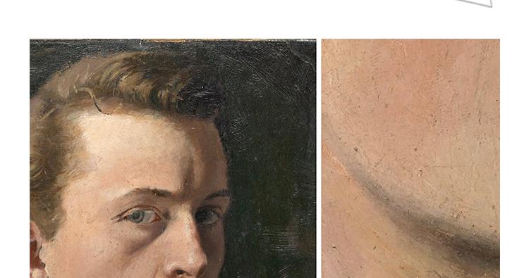 蒙克 高清油画图片电子版版画抽象教学临摹喷绘装饰画芯素材插图(6)