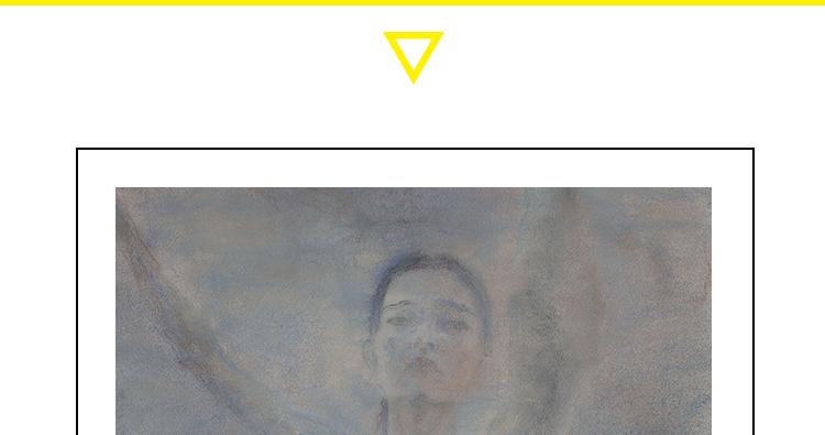 何多苓高清油画电子图片人物风景伤痕美术抒情现实临摹喷绘素材插图(1)