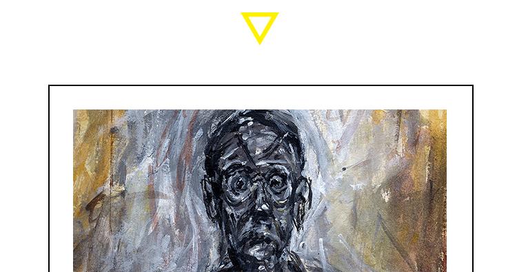 贾科梅蒂油画高清电子图片抽象现实主义教学临摹装饰画芯素材资料插图(1)