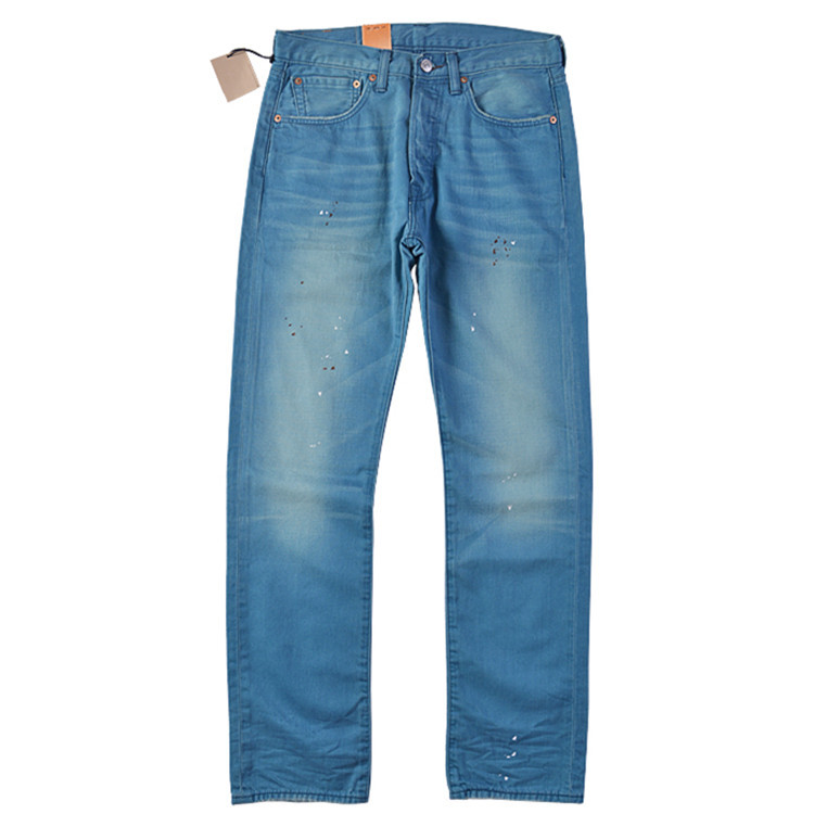 4aca8c3733f Counter genuine levis 501 straight ink wash thin jeans male 00501-1761