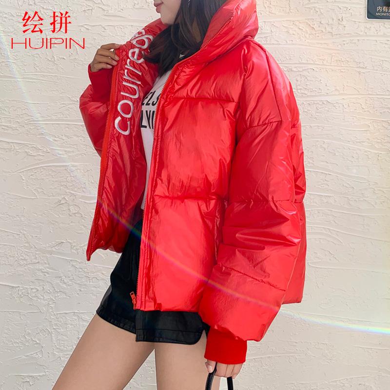 冬季新款外套女短款棉袄韩版超火面包服棉衣