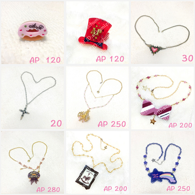 taobao agent AP BABY ANP LOLITA Jewelry Necklace Ring Bracelet LO Niang Jewelry