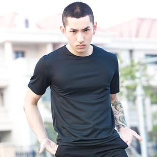 男女夏季速干吸汗透气户外薄款跑步T恤