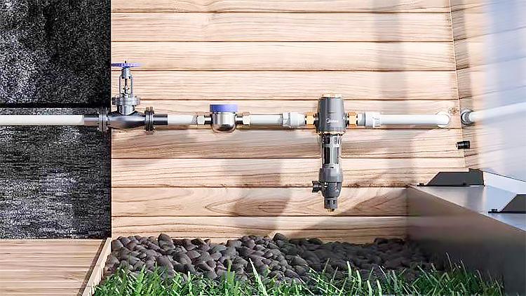 前置净水器,花一次钱能用几十年