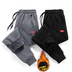 【加绒保暖又有型】冬季运动休闲裤