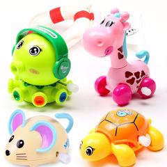 儿童上链发条玩具会跑的宝宝婴幼儿益智上劲学爬1-3男女孩小玩具