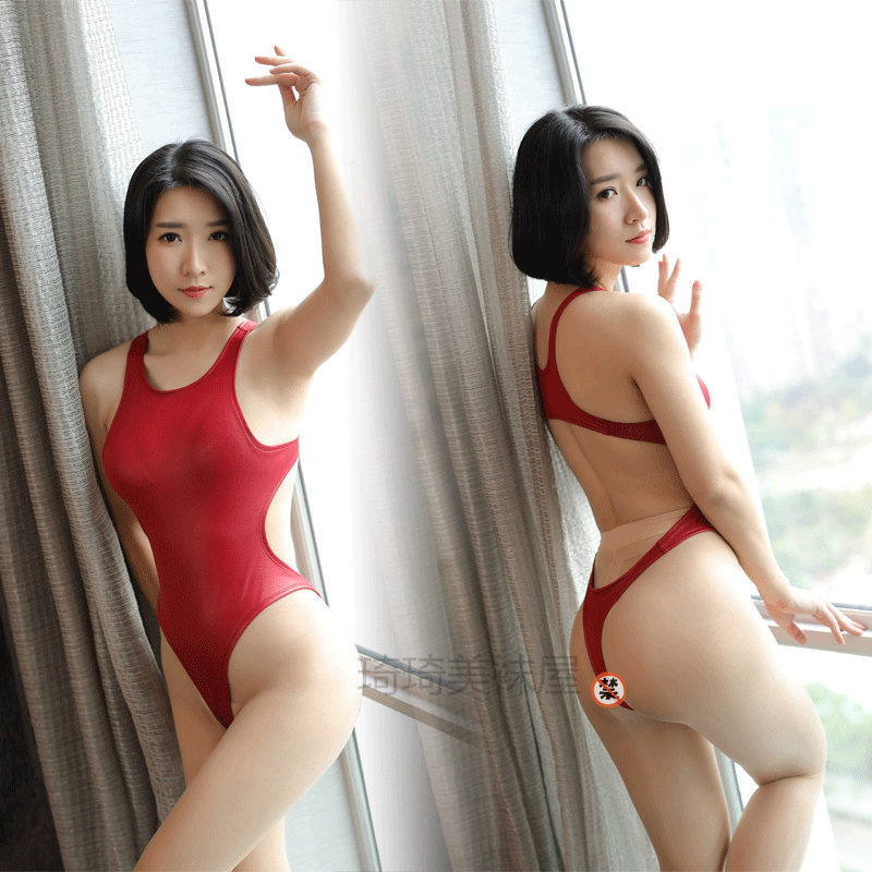 Tight one piece swimsuits japanese girls