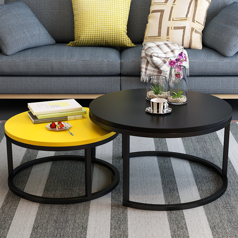 Nordic Coffee Table Modern Minimalist Small Apartment Home Living